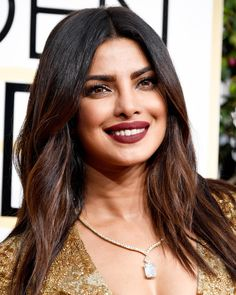 The Best Beauty Looks from the 2017 Golden Globe Awards - Priyanka Chopra from InStyle.com
