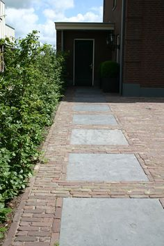 1000 images about entree oprit voordeur portiek on pinterest tuin met and tes - Tuinontwerp ...