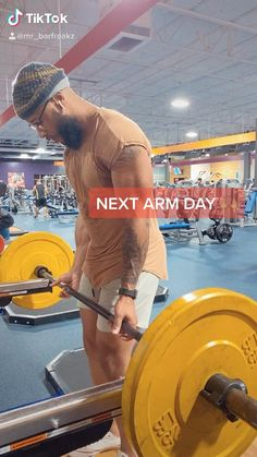 Bicep And Tricep Workout, Abs And Cardio Workout, Push Workout, Gym Workouts For Men, Gym Workout Videos, Weight Training Workouts, Gym Workout For Beginners, Strength Workout, Shoulder Workout