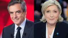 SIPA Francois Fillon, French Elections, Marine Le Pen