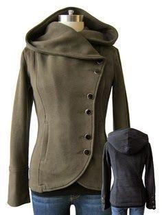 cool Adorable Grey Jacket for Women Women Lady Fashion