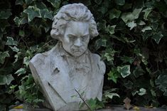 Beethoven Tuscany, Garden Sculpture, Outdoor Decor, Home Decor, Homemade Home Decor, Tuscany Italy, Decoration Home, Interior Decorating