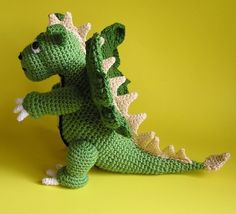 PDF Crochet Pattern DRAGON por bvoe668 en Etsy