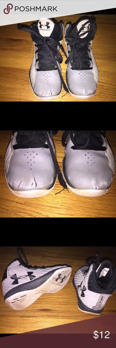 Size 12k boys under armour bball shoes Used. Under Armour Shoes Sneakers