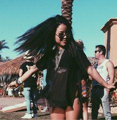 Cierra's Coachella outfit is super cute!   The Fosters