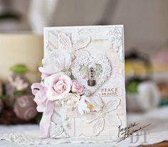 Peace Card- Prima Blog hop