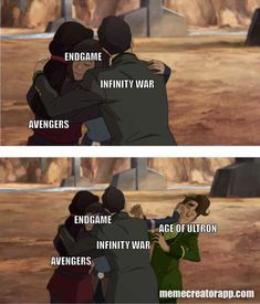 AoU wasnt bad but it wasnt as good as the rest #avengers memes