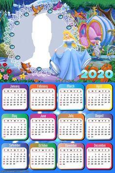 Cinderella Carriage Calendar 2020 Diy Calendar, Calendar 2020, Calendar Design, Cinderella Pictures, Cinderella Carriage, Collage Frames, Bug Out Bag, Blogger Templates, Pink Watercolor