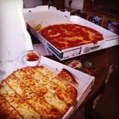 Papa John's pizza party