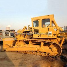 Used Caterpillar CAT Crawler Bulldozer - In very good working condition - Year: 2003 - Clean and nice, with new painting Mining Equipment, Heavy Equipment, Cat Bulldozer, Earth Moving Equipment, Caterpillar Equipment, Crawler Tractor, Heavy Machinery, Toy Trucks, Military Vehicles