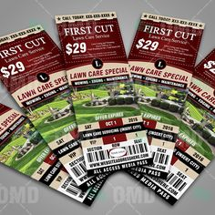 Lawn Care Door Hanger Design lawn care flyer templates | tips and ideas | pinterest | flyers