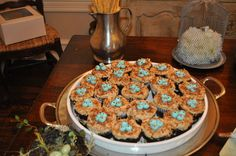 Martha Stewart bird cupcakes by tricia