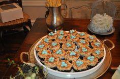 Martha Stewart bird cupcakes by tricia