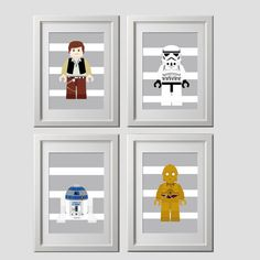 CUSTOMIZED+choose+4+PRINTS+star+wars+prints+by+AmysSimpleDesigns