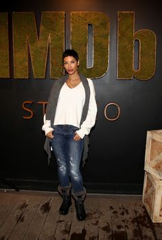 Nicole Mitchell Murphy Photos - Actress Nicole Mitchell Murphy attends the private 50th Birthday Party for IMDb's Col Needham, Presented By Amazon Video Direct at the 2017 Sundance Film Festival on January 23, 2017 in Park City, Utah. - Nicole Mitchell Murphy Photos - 29 of 96 Most Beautiful Black Women, Amazon Video, Sundance Film Festival, 50th Birthday Party, Entertainment Weekly, Host A Party, Loreal Paris, Park City, Utah