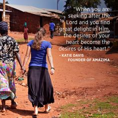 "God has turned my world upside down, but He's turning it right side up."" Amazima director and founder Katie Davis tells how God changed her perspective and filled her with passion to love and serve the Ugandan people, especially the children. It's through caring for the orphan that God has turned her values upside down and nurtured her dependence on God above all. Hear more about the remarkable impact Katie and Amazima are having in Uganda. (Part 3 of Katie Davis' interview with FamilyLife)"