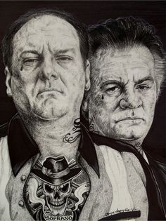 Wayne Maguire Tattooed Danny Trejo Inked Ikon Canvas Art Print