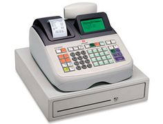 http://www.asturalba.com/maquinas/registradoras/registradoras.htm Máquina con caja registradora Olivetti ECR-6800