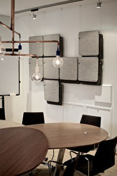 FeltTile from Rom Tonik. Acoustic tiles from wool. Sound Proofing, Wall Patterns, Acoustic, Tiles, Wool, Studio, Music, Projects, Inspiration