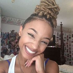 40 Long and Short Faux Locs Styles and How to Install Them braid styles., 40 Long and Short Faux Locs Styles and How to Install Them braid styles faux locs updo 80 Long and Short Faux Locs Styles and How to Install . Shaved Side Hairstyles, Faux Locs Hairstyles, Sporty Hairstyles, Trending Hairstyles, Summer Hairstyles, Girl Hairstyles, Twists, Twist Braids, Black Girl Braids