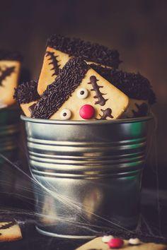 Kanela y Limón: Galletas Frankestein para halloween