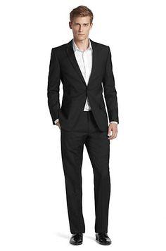 Designer-Anzug ´Amaro/Heise` aus Schurwolle von HUGO  Modell Amaro/Heise 50160704 Schwarz