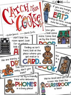 Catch That Cookie is such a great story. Your students will love the lesson plans, writing, and craftivity.