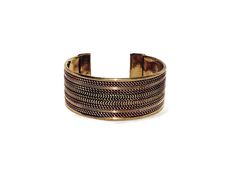 Cable Cuff, India - Handcrafted Products Fighting Poverty www.InternationalBlessings.com