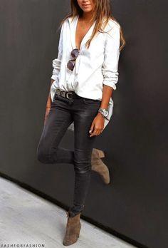 Que porter avec un jean skinny 5 belles outfits