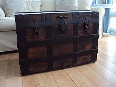 Old trunk as a coffee or end table!