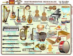 Instrumentos de música - ¡Olé Lardy!
