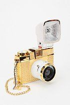 Lomography Diana  Gold Camera  #UrbanOutfitters