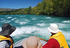 Pioneer Rafting, Wanaka, South Island, NZ - rafting for age 5 and up