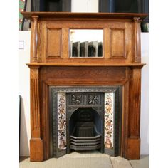 Fireplace Mantels Edwardian Fireplace Mantel Fire