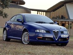 Alfa Romeo GT Blue