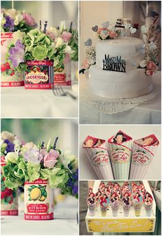 Truly Madly Dottie Blog » wedding photography and wedding stationery. I love these confetti cones! Dottie really makes the best stationery