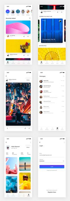 Friends todays freebie is Creative Social Media App UI Kit. Free UI Kits or user interface design kits are valuable asset for any web and graphic designer. Ui Design Mobile, App Ui Design, Design Design, Ui Kit, All Social Media Apps, Ui Design Tutorial, App Development, Application Development, Mobile Application