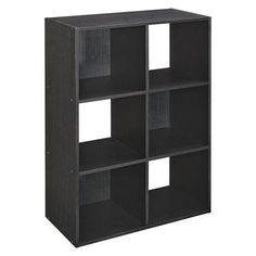 ClosetMaid 6 Cube Organizer Black Ash.Opens in a new window