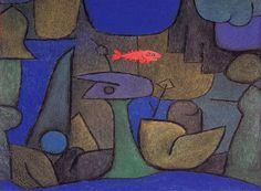 Paul Klee, Underwater Garden, 1939 on ArtStack #paul-klee #art