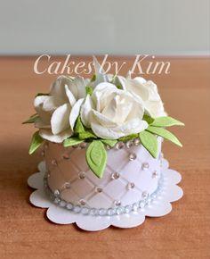 Wedding Tea Light Cake (made by Kim)
