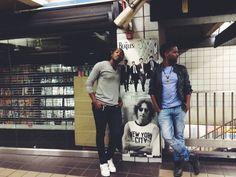 Mtha and Keke, subway things. #TheMuffinz