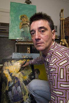 Gennadii Gogoliuk (Russian: 1960) - Gennadii Gogoliuk, internationally renowned Russian artist. Shot in his studio in Edinburgh