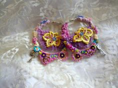 Earrings Bohemian by irinacarmen on Etsy, $35.00
