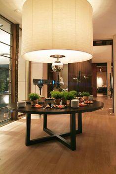 Lamp in the lobby - Intercontinetal Geneva by Tony Chi