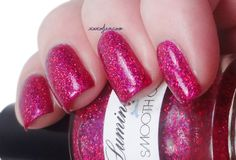 Lumina Lacquer Smooth Operator over Colors by Llarowe Sparkles are a Girl's Best Friend