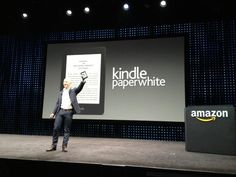 "Amazon announced new ""Paperwhite"" models of its Kindle ebook reader as well as a new Kindle Fire HD edition of its tablet, a version available in two sizes and one with 4G LTE support."
