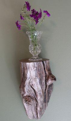 Driftwood Shelf, Drift Wood Shelf, Shelf, Wood Shelf, Corbel, Shelf 9. 45.00, via Etsy.