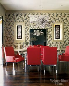 Elle Decor Dining Room | ... Rooms Photos - Modern Dining Room Inspiration Pictures - ELLE DECOR