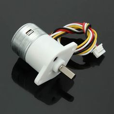DC 5V 2 Phase 4 Wire Miniature Stepper Gear Box Motor