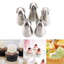 1 Pc Cozinha Russa Tulipa Bico Para Russo Rose Bicos Bolo Cupcake Decoração Confeiteiro Piping Bicos Dicas #85081(China (Mainland))